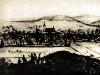 Pohled z Křížového vrchu kolem roku 1830