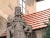 socha sv. Václava u fary
