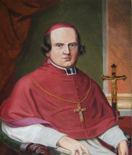 Ferdinand Kindermann - portrét v obrazárně Vyšehradské kapituly