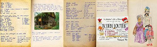 vstupte do záznamů první kroniky souboru z let 1974 - 2003
