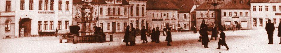 Historická fotogalerie - výlet do minulosti našeho města, tak jak ho zachytili lidé na fotografiích
