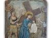 VI. zastavení - Veronika podává roušku Ježíšovi, aby se usušil
