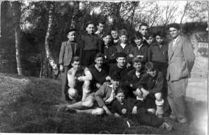 1951 - první žákovská jedenáctka
